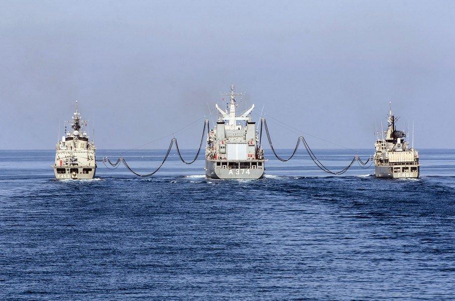 Ασκήσεις πολεμικού ναυτικού