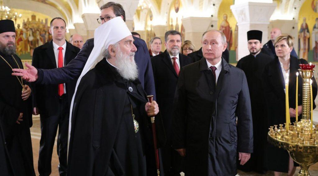 Τα μηνύματα Πούτιν από τη Σερβία και η εκκλησιαστική διπλωματία