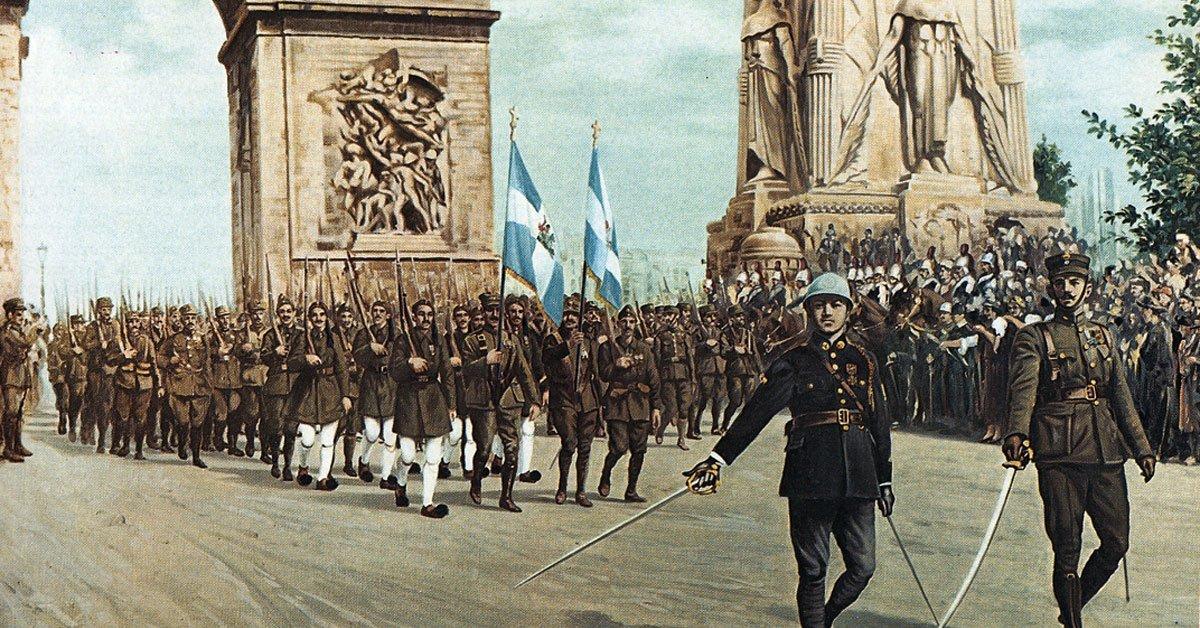 Ελλάδα-Γαλλία: 185 χρονια συμμαχιας!