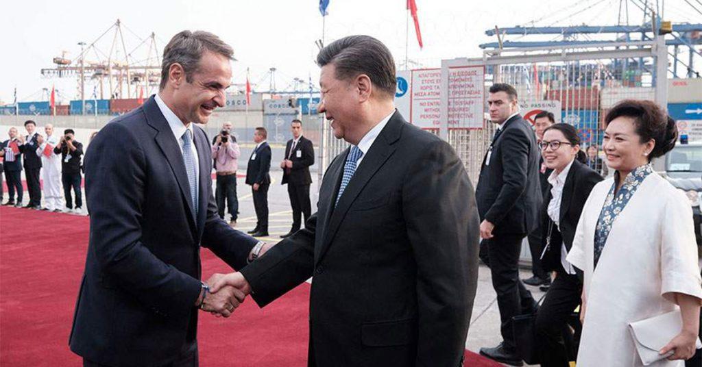 Νέες πιέσεις Κίνας στον Μητσοτάκη