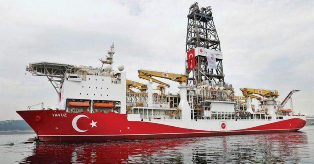 Το σενάριο για τουρκική γεώτρηση στο «τριεθνές» της Ανατολικής Μεσογείου