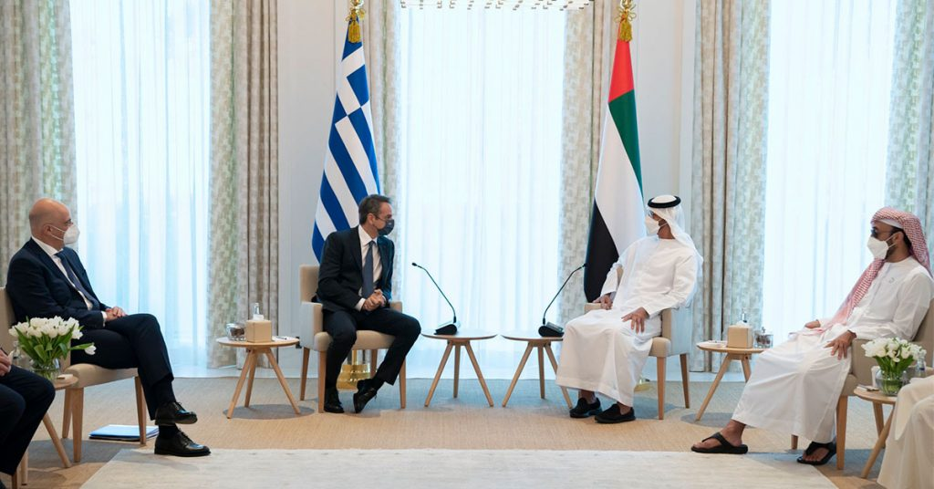 Τα Ηνωμένα Αραβικά Εμιράτα κοιτούν, μέσω Ελλάδας, προς τη Μεσόγειο