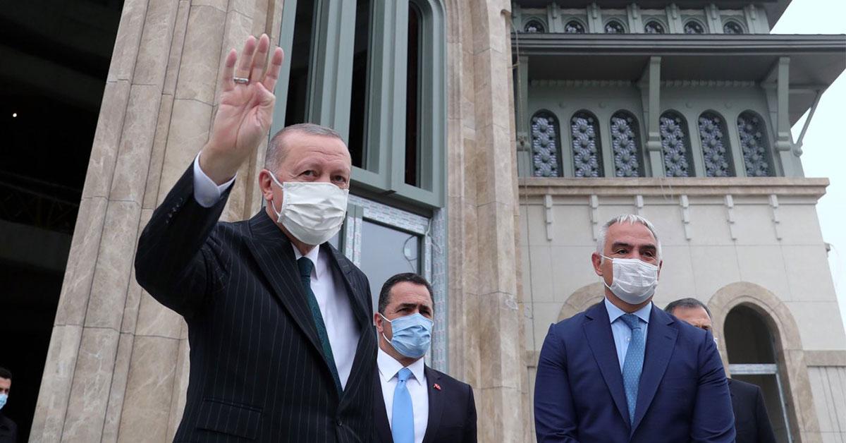 Ο Ερντογάν πιέζει την Ευρώπη να γίνει «γεωπολιτική»