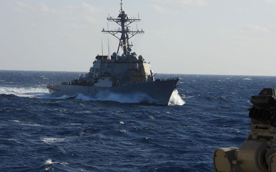Π. Χηνοφώτης: Προβολή ναυτικής και ήπιας ισχύος, επιχείρηση «Κέδρος», Λίβανος